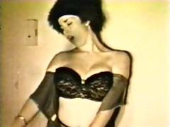 vintage woman undress