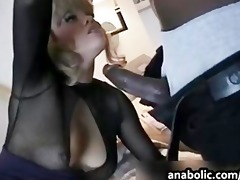 whores get pounded hard by black dongs