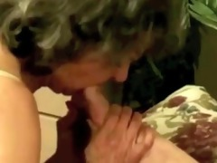 granny sucks toes and chap rectal hole by