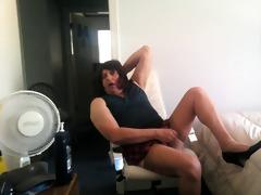 sexy styles of masturbating. in nylons