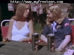 admirable vintage threesome legal age teenager