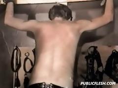 vintage gay bondage spanking