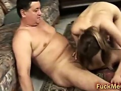 old ramrod fucks young vagina
