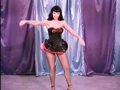 vintage stripper film - b page teaserama clip