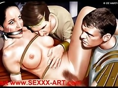 erotic classic artworks a thru b