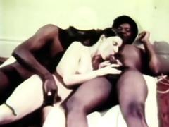 sexy retro trio copulating