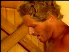cowboy receives lucky. retro episode scene