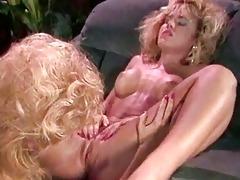retro lesbian women licking their taut puss