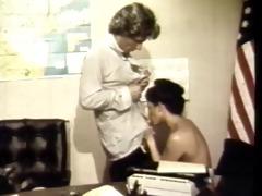 vintage: classic office sex