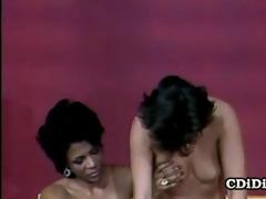 liz alexander and sharon mitchell - 7some vintage