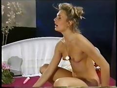 bushy milf doing anal