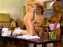 classic and enjoyable lesbian trio with trinity