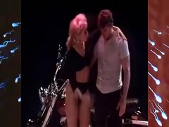 lovers dance &; fuck on stage