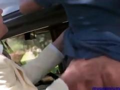 hot blond angel in retro porn film