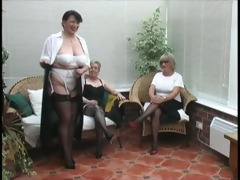 vintage stripping from mature village ladies