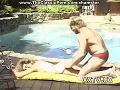 married pair fuck near pool