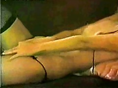 vintage underware lady strip and wank!