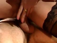 breasty vintage handjob finish