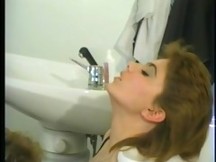 large pretty woman gets a lesbo experience -
