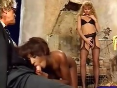 sh retro interracial threesome ffm