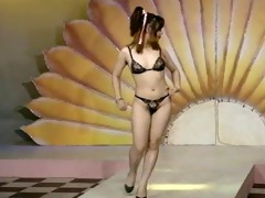 asian lingerie catwalk 10