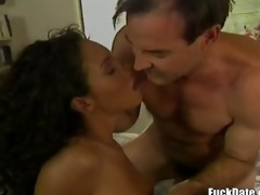 awesome retro interacial fuck with hottest retro