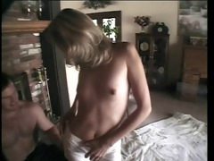 honey getting cum load on her face