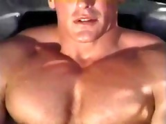 hot vintage bodybuilder cums (fox studios)