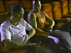 vintage homosexual porn theater