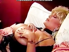 blond bitch with big pointer sisters copulates lad
