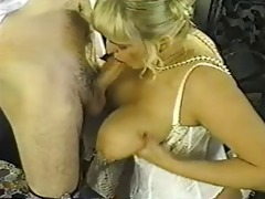 vintage obese blonde with huge billibongs
