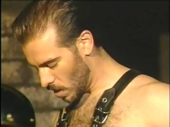 gay sex w/leather ~vintage