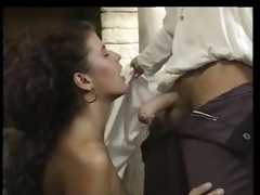 angelica bella drilled in a castle