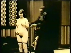 real vintage priest bonks hotty in b&;w