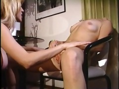 lesbo anal play - nipple in her allies arsehole