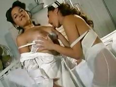 retro nurse porn