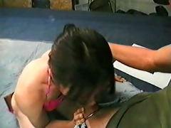 vintage asian lady-boy tops her daddy
