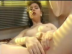 from the early 86s: french cutie plays with red