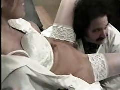 ron jeremy playing doctor with a blonde