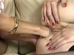 classic lesbian anal fisting scene