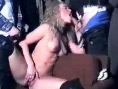 hawt blonde 68s gangbang