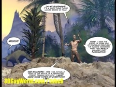 cretaceous schlong 10d gay comic story about