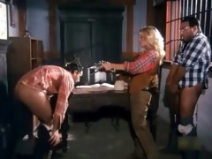 wild west double penetration in the saloon