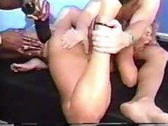 big black sex-toy and facual cumshots
