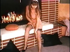 fire - vintage stockings striptease dance nylons