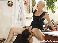 impure lady vintage clip