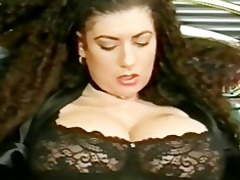 busty tiziana redford in black underware