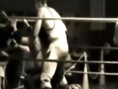 mixed wrestling... vintage pro style 3